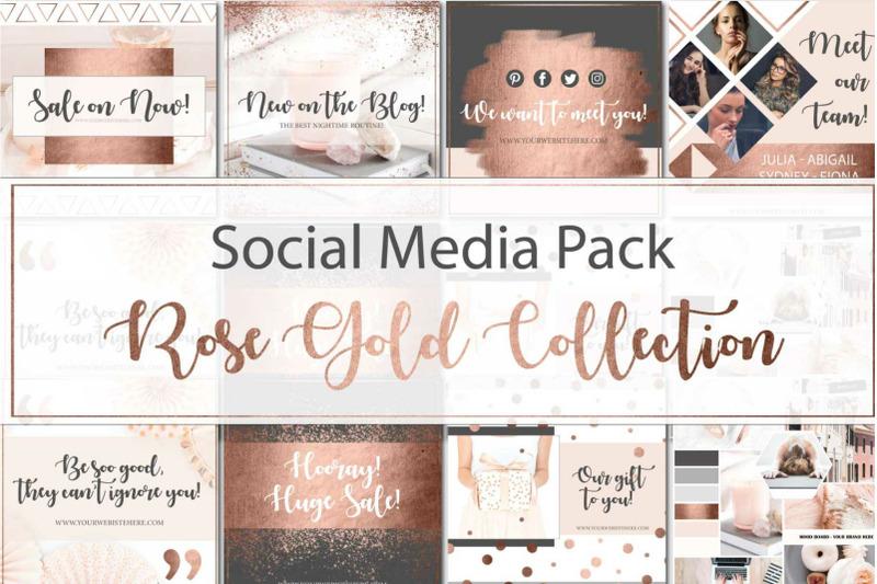 canva-rose-gold-branding-bundle