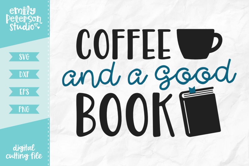 coffee-and-a-good-book-svg-dxf