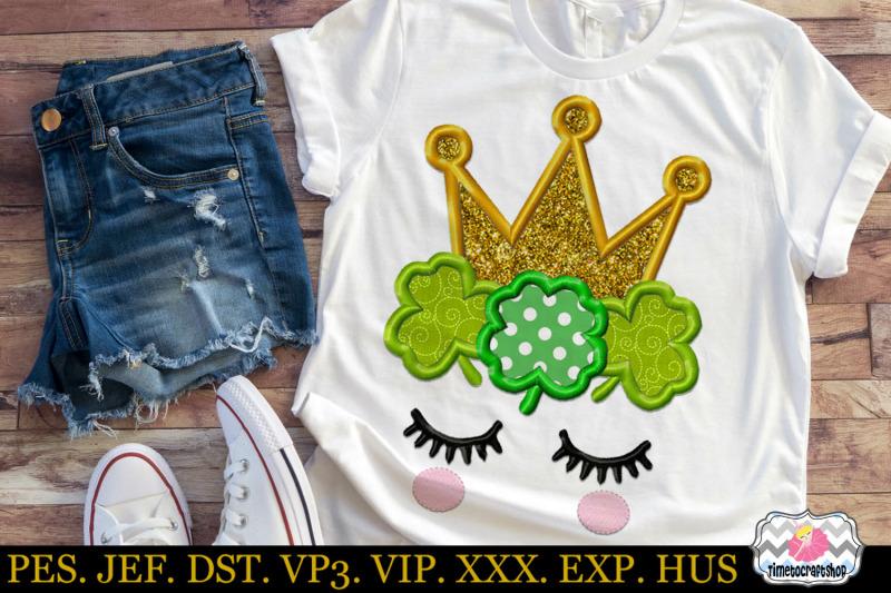 st-patricks-day-irish-princess-embroidery-applique-design