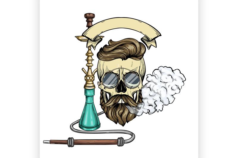 color-hipster-skull