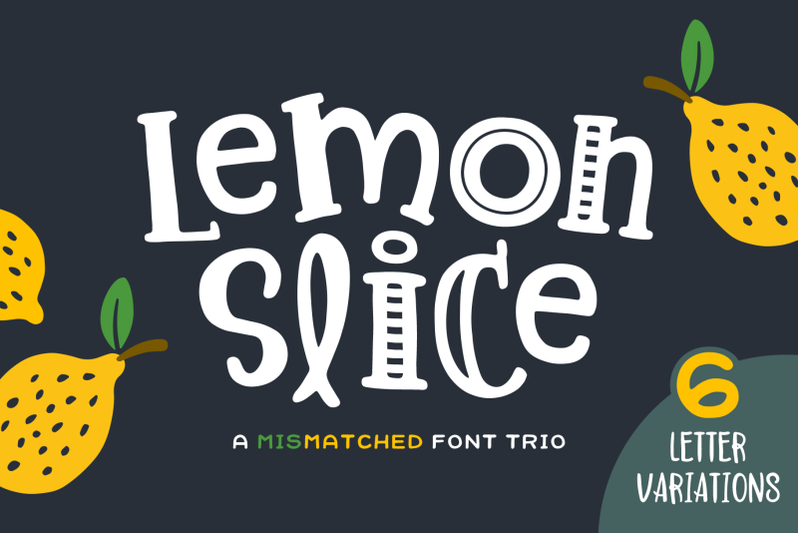 lemon-slice-font-trio