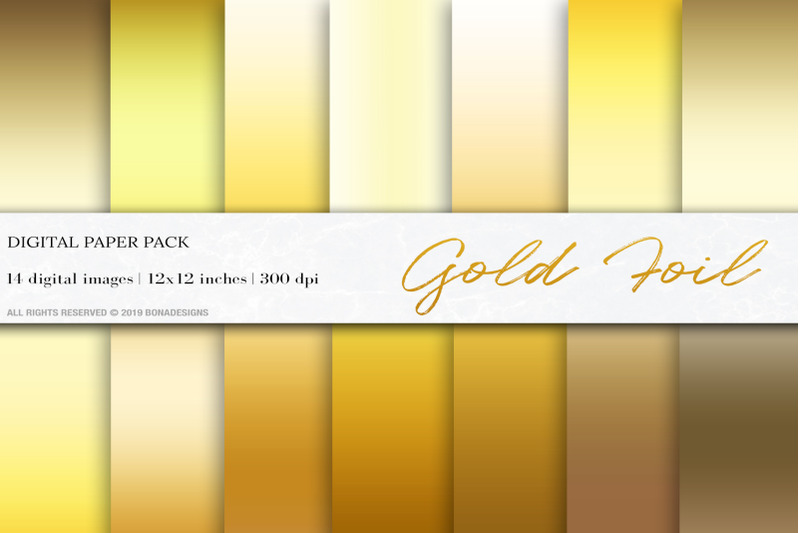 gold-foil-digital-papers-gold-gradient-background