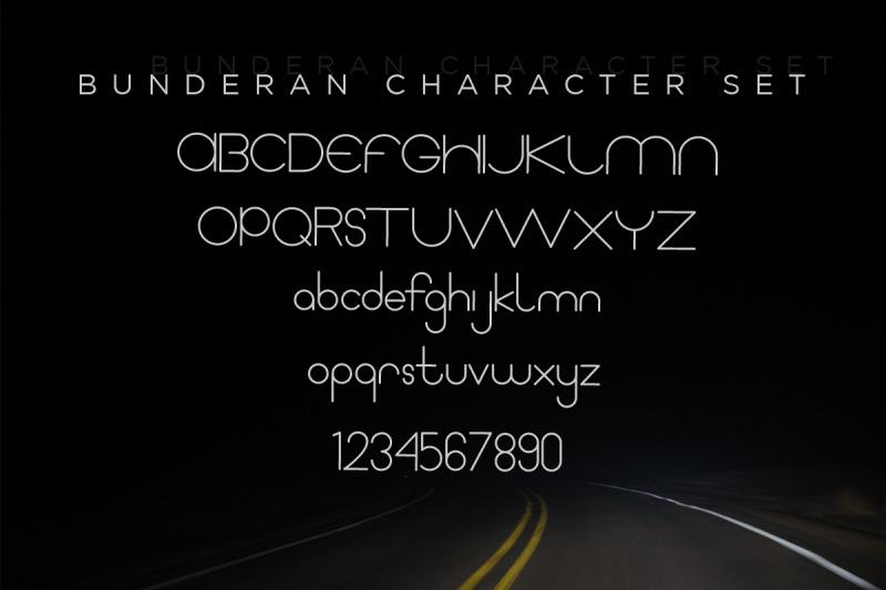 bunderan-rounded-sans
