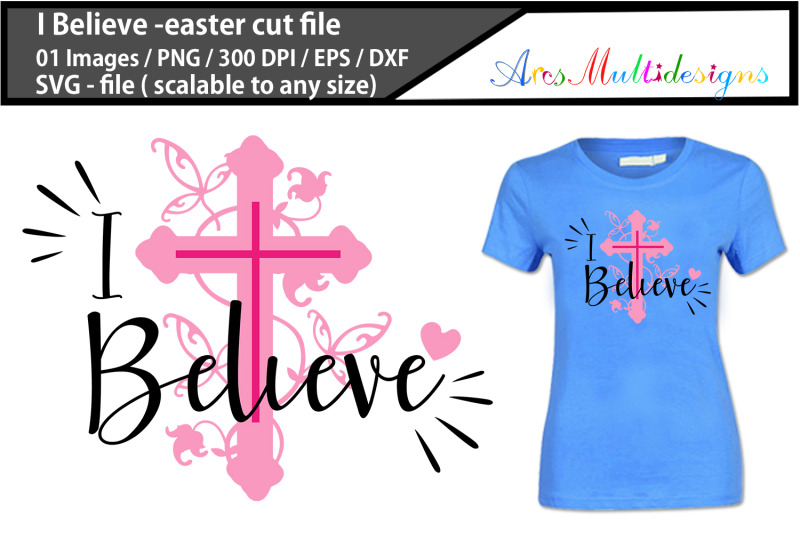 i-believe-easter-svg-cutting-files