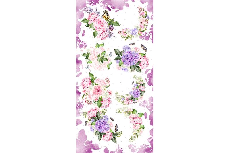 watercolor-wreath-amp-bouquet