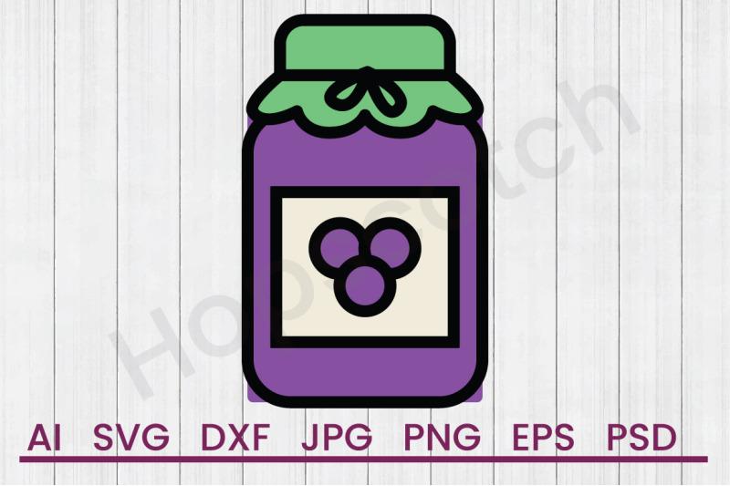 jelly-jar-svg-file-dxf-file
