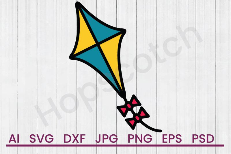 kite-svg-file-dxf-file