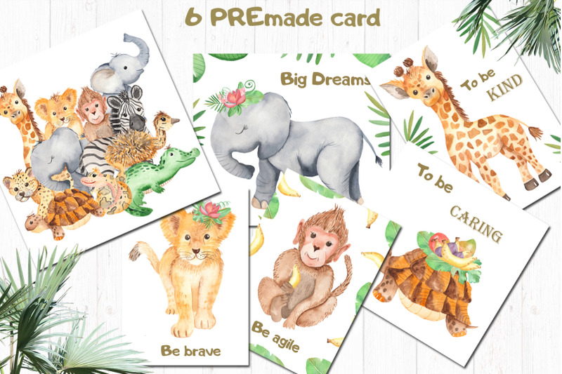 cute-african-animals-watercolor-clipart
