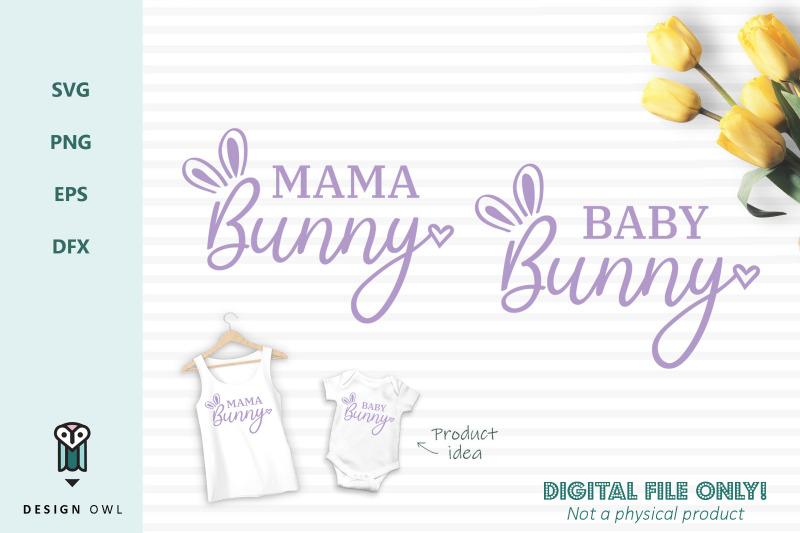 mama-bunny-baby-bunny-svg-files