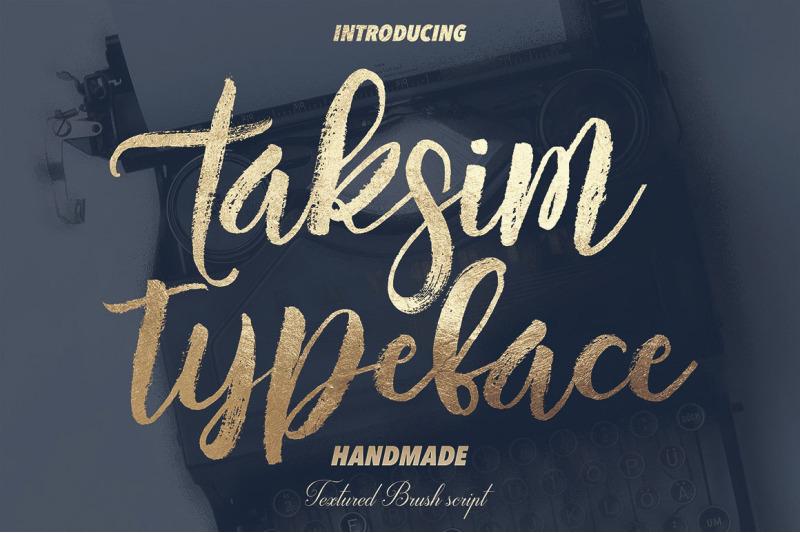 taksim-brush-font