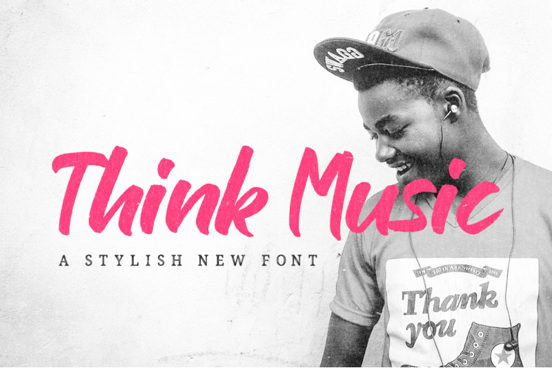 think-music-font