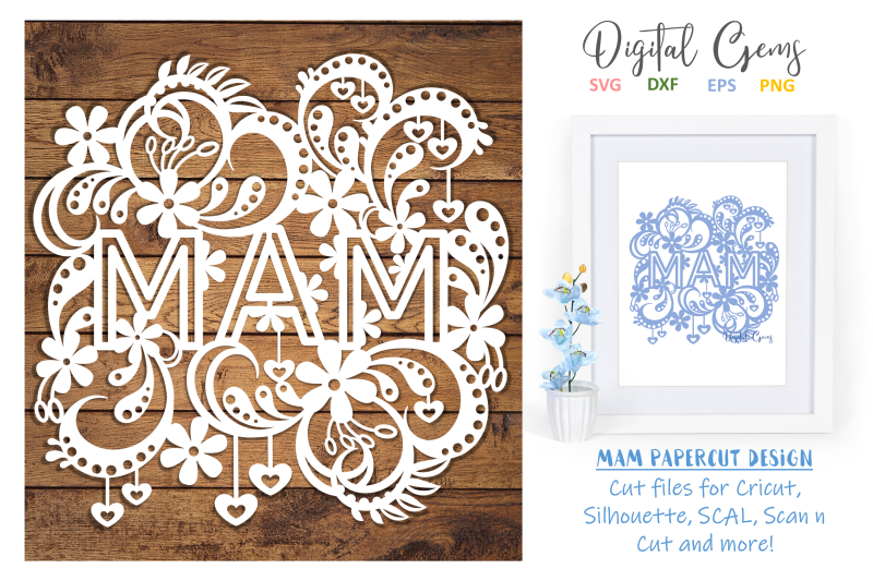 mam-papercut-design