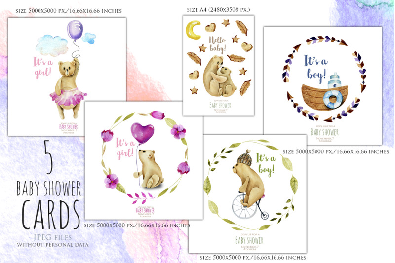 my-dear-bears-watercolor-clipart