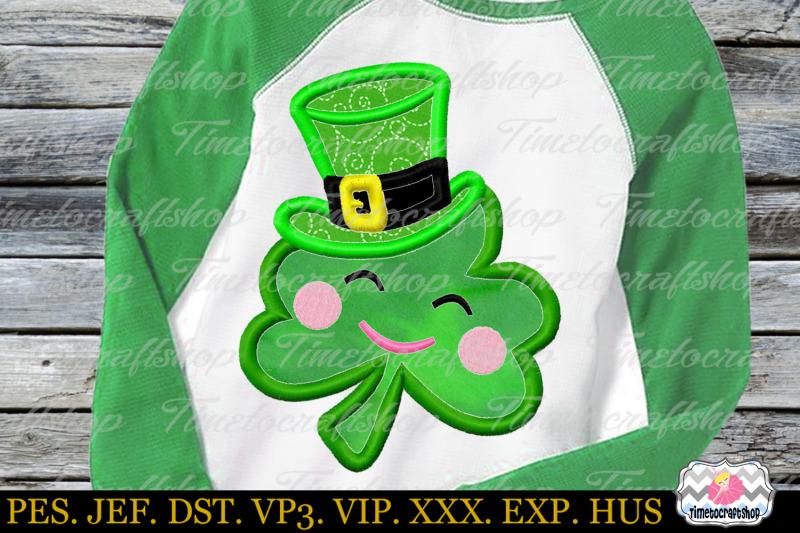 st-patricks-day-clover-leprechaun-hat-embroidery-applique
