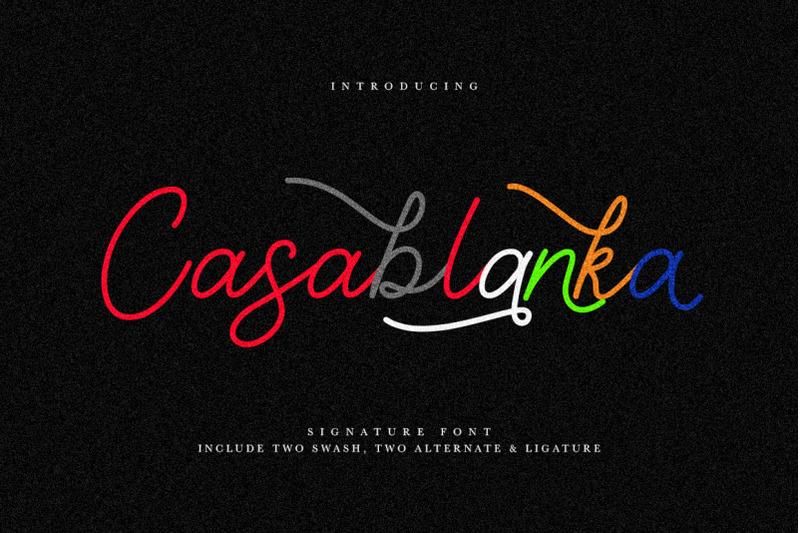casablanka-script