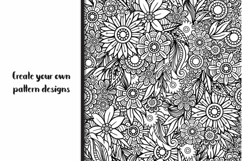floral-doodles-collection