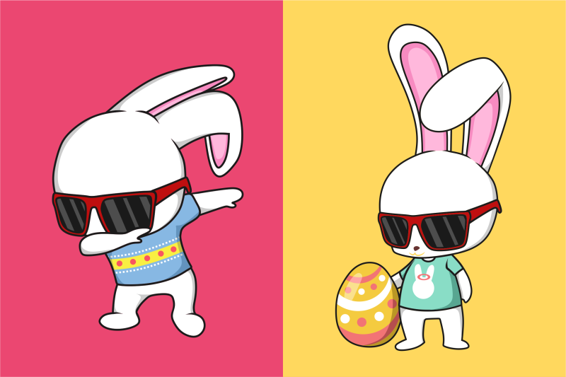 funkie-bunny-svg-collection