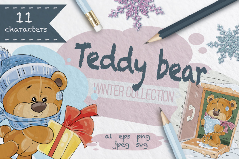 teddy-bears-winter-collection