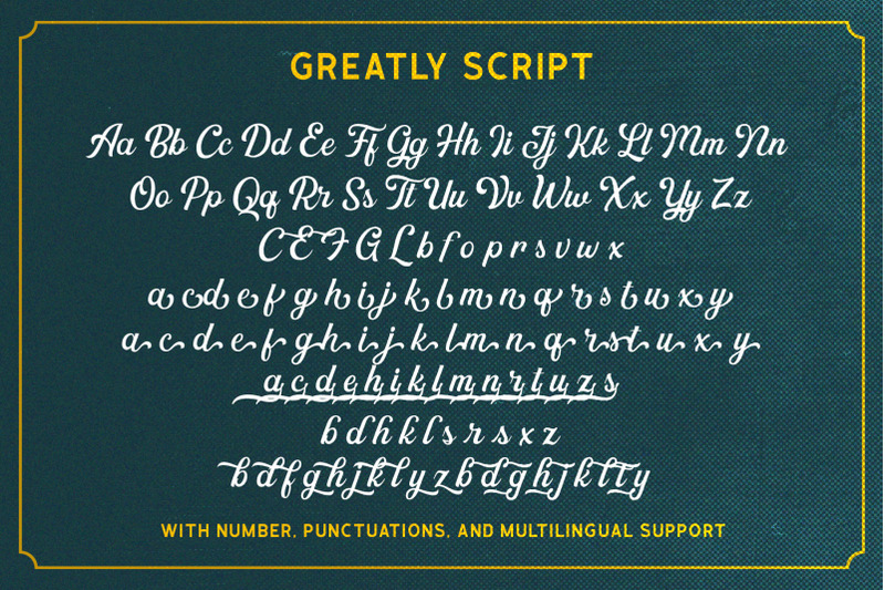 greatly-font-duo-logo-templates