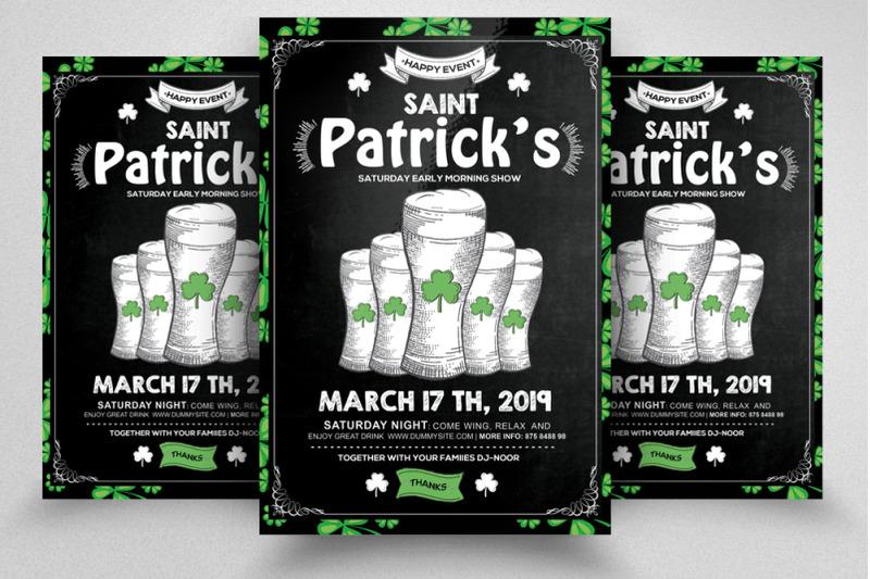 st-patricks-day-flyer-template