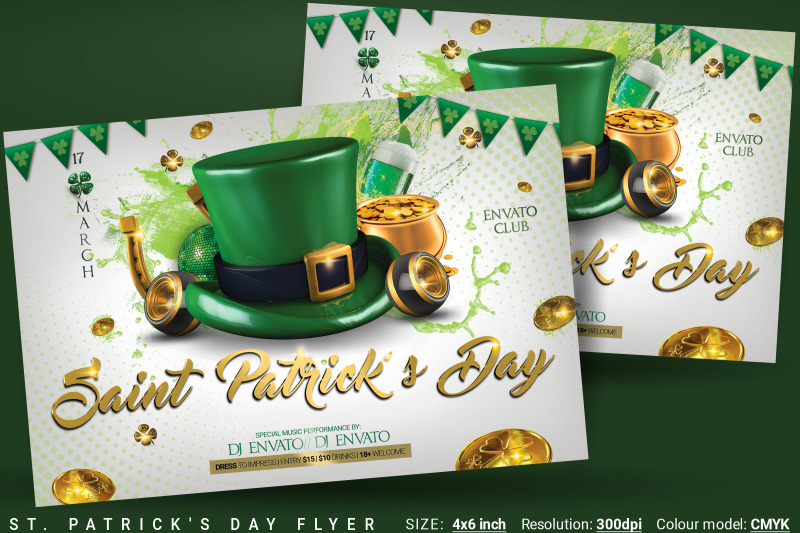 st-patrick-039-s-day-flyer-and-poster
