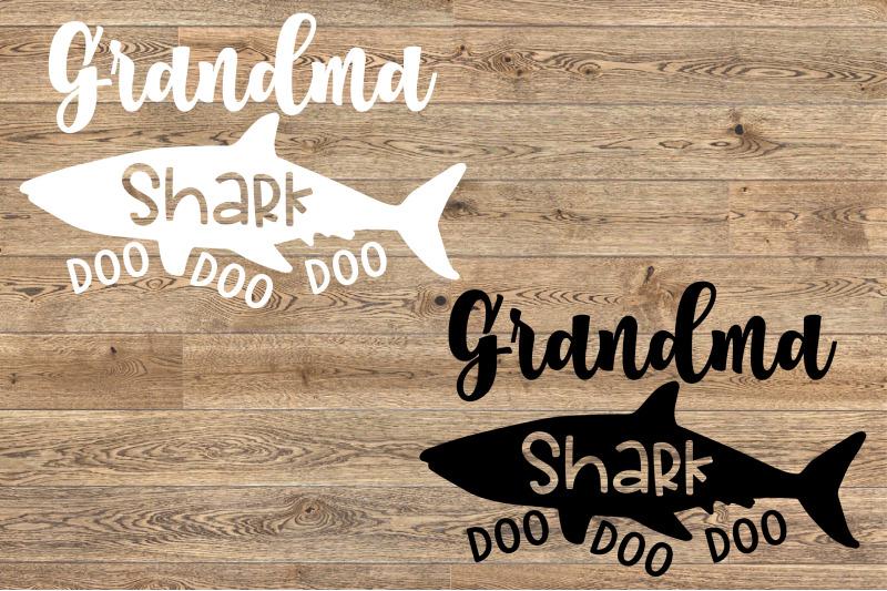 Grandma Shark Svg Doo Doo Doo Mother S Day Mom Sea World 1306s By