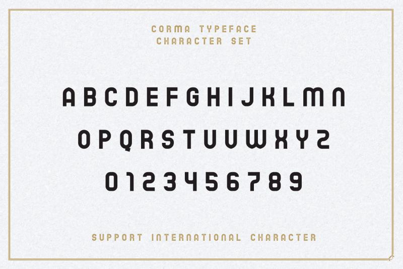 the-corma-4-font-files