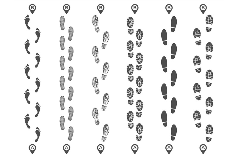 footsteps-track-routes-footprint-trail-footstep-imprint-way-route-an