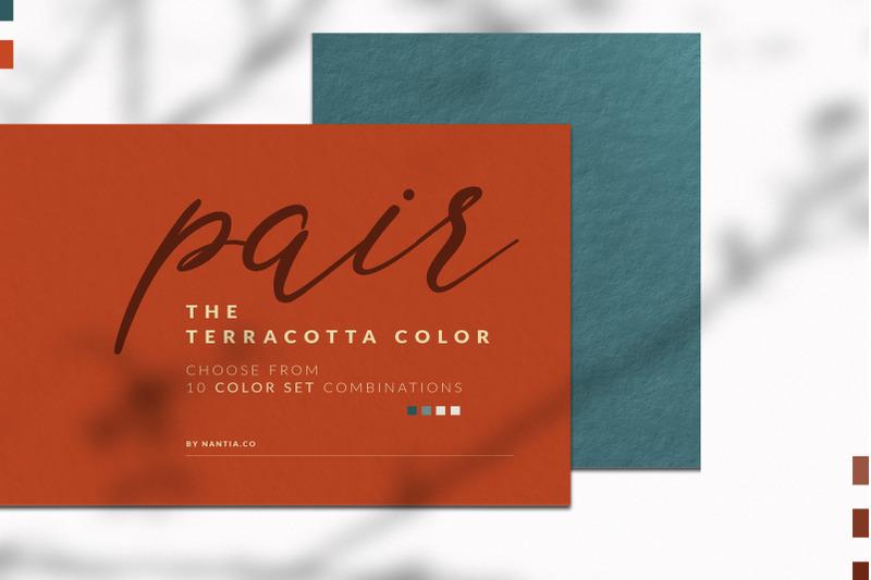 terracotta-color-palette-collection