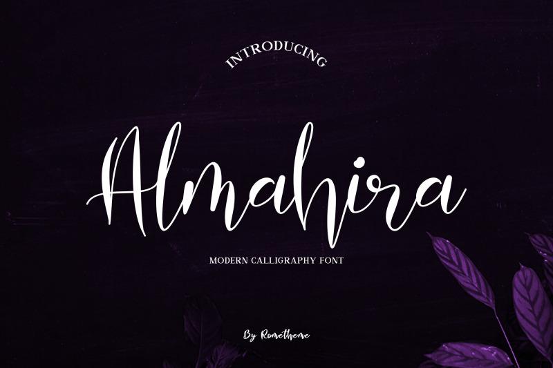 almahira-script-font