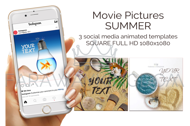 summer-tropical-travel-square-social-media-animated-template-set