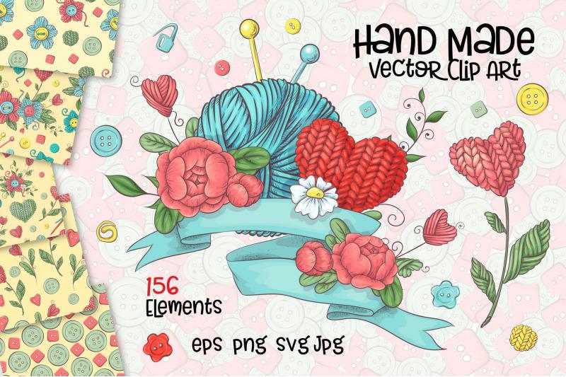 hand-made-vector-clip-art
