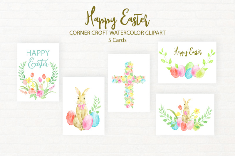 watercolor-clipart-happy-easter