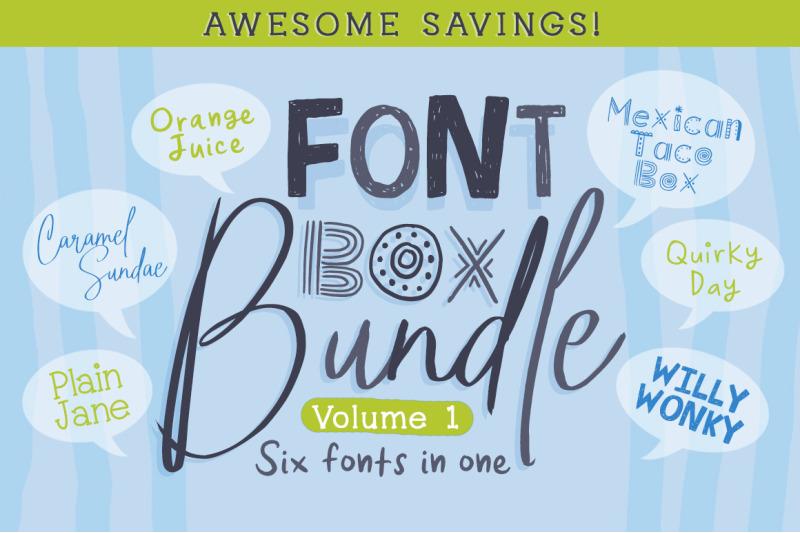 font-box-bundle-volume-1