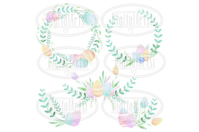watercolor-easter-borders-clipart