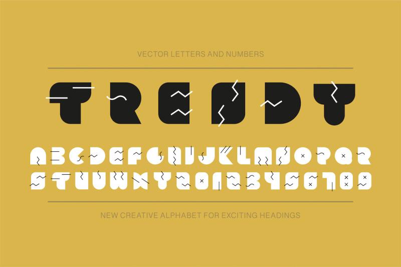 memphis-trendy-english-alphabet