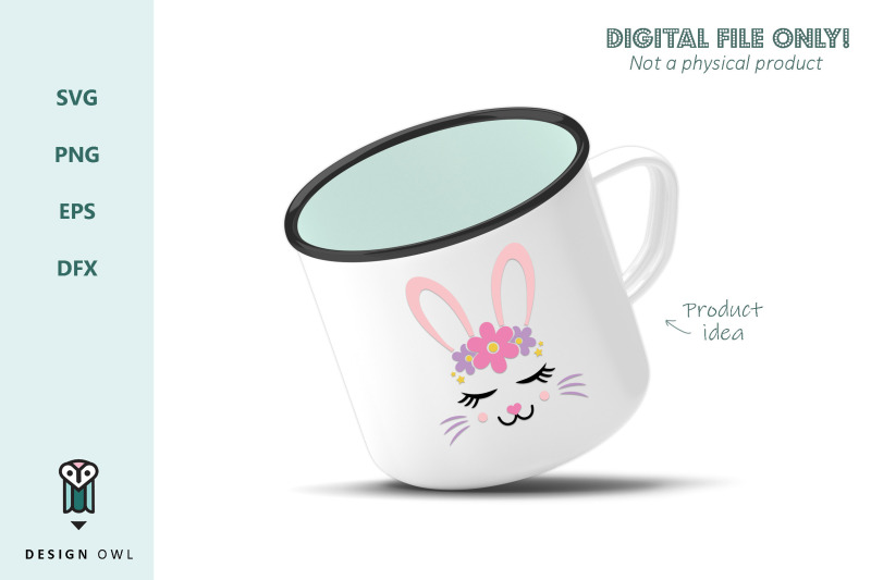bunny-face-svg-file