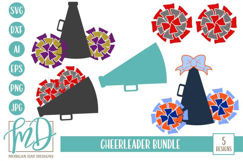 cheerleader-svg-bundle