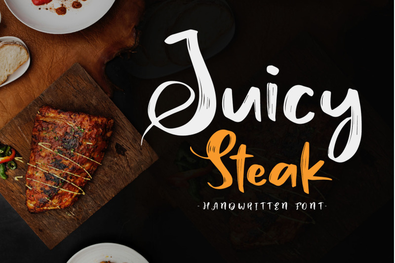 juicy-steak-handwritten-font