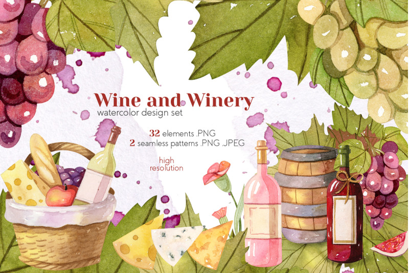watercolor-wine-and-winery-collection