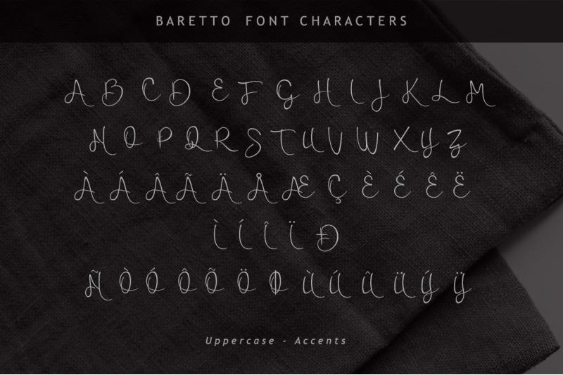baretto-font
