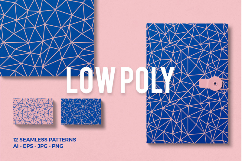 low-poly-seamless-patterns