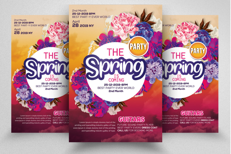 the-spring-flyer-template