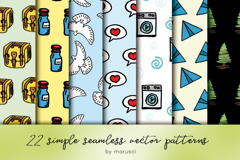 simple-seamless-patterns