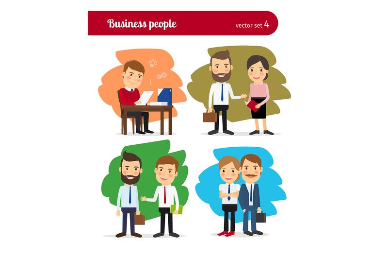 cartoon-business-people