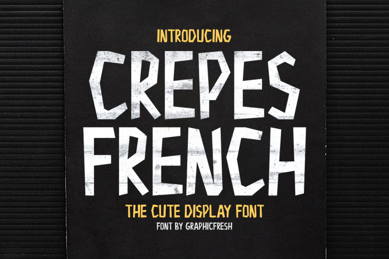 crepes-the-cute-display-font