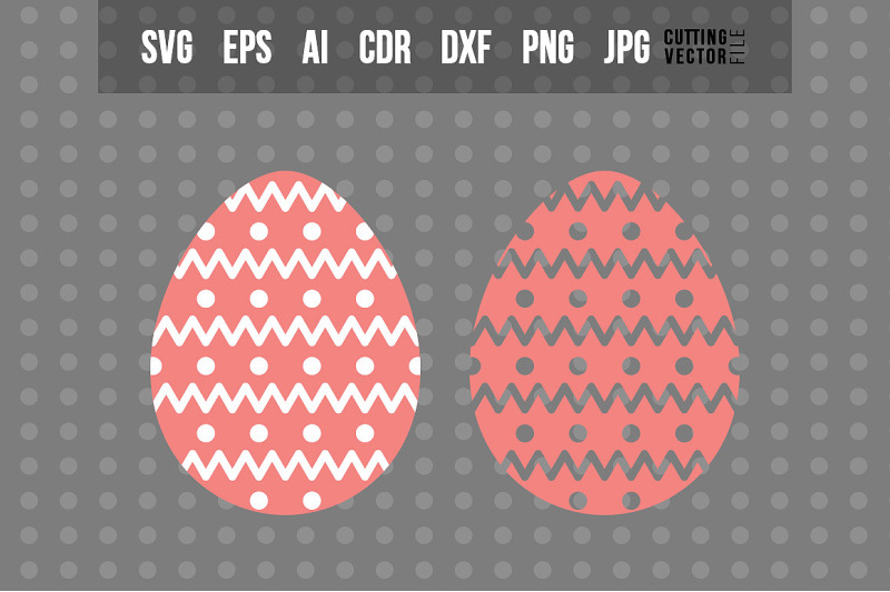 easter-egg-svg-vector-design