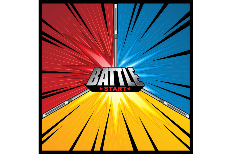 battle-scene-background-template-collection