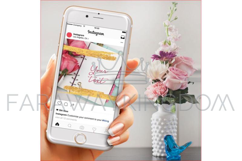 rose-golden-flower-internet-instagram-animated-template-set