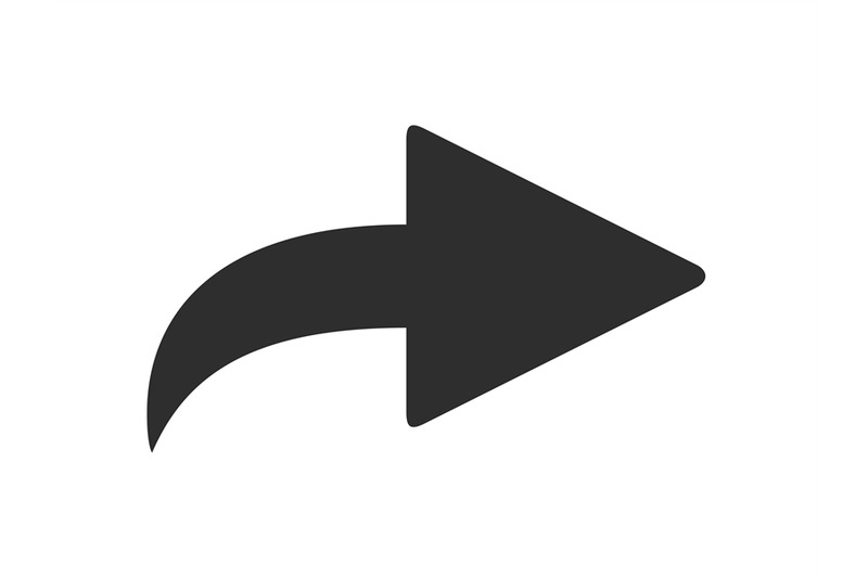 forward-icon-forwarded-email-arrow-curved-right-pointer-and-share-ic